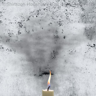 Gallery Artist Animation for Shirazeh Houshiary Dust