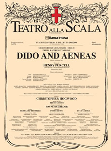 Teatro alla Scala Dido and Aeneas Animation Premiere