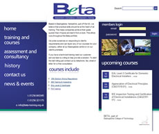Website Design and Web Development for Basingstoke Engineering Training Association