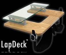 LapDeck Game Console Device Website Design
