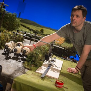 Behind the scenes Aardman Animation Shaun The Sheep film