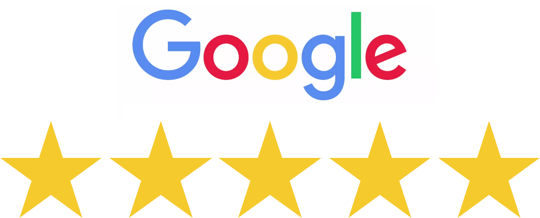 Rated 5 stars by our clients